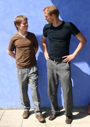Markus Matschke (links), Sven Falge (Foto: Carolin Jaschek)