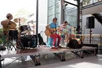 Die HdM-Band sorgte für Stimmung (Foto: Sven Cichowicz)