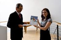 Dr. Erich Frank und Stefanie Liensdorf (Foto: Sven Cichowicz)