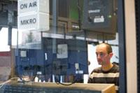 Das Studio des Hochschulradios HoRadS an der HdM (Fotos: Sven Cichowicz)
