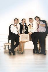 Die Sieger aus Ausgburg: Robert Freudenreich, Andrea Wittek, Robert Pfundmeier und Matthias Werner (Foto: Sylvia Rennert)