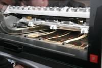 An der HdM wird unter anderem auf einer Heidelberg Speedmaster gedruckt