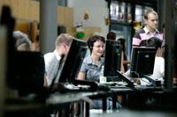 Medieninformatiker der HdM arbeiten an Projekten f�r das Web
