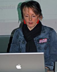 Melanie Erlewein, Schulungsleiterin und Ausbilderin (Foto: Carolin Kammer, Satzkiste GmbH)