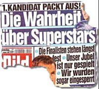 Schlagzeile der Bild-Zeitung