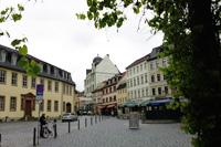 Die Weimarer Innenstadt