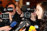 Riesen Medienrummel um Abiturientin aus Hannover, Quelle: Weser Kurier