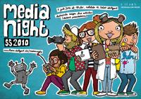 Das Plakat zur MediaNight
