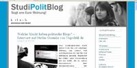 Screenshot der Blog-Seite
