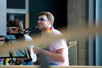 Die HdM-Band sorgt für die Musik (Foto: Sven Cichowicz)