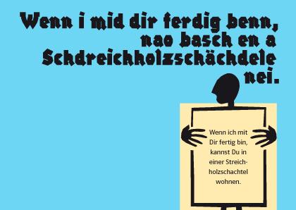 Allerlei Schwäbisches auf Postkarten   Hochschule der Medien (HdM)