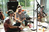 Die HdM-Band sorgt für die Musik (Fotos: Kseniya Anufriyeva)