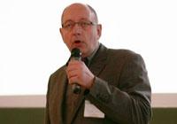 HdM-Professor Hans-Heinrich Ruta begrüßte die Gäste