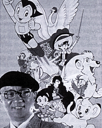 Osamu Tezuka und seine Schöpfungen, Quelle: www.manganews.net