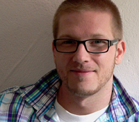 Jonathan Lasarzewski studiert Audiovisuelle Medien an der HdM