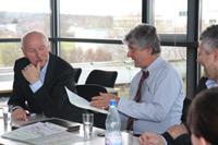 Institutsleiter Dr. Wieland Backes und Marcel Reif (Fotos: Julia Rommel)