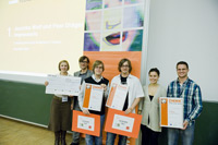 Jürgen Röhm und Andrea Müller von der Hochschule der Medien (rechts im Bild, Foto: MFG Baden-Württemberg)