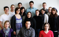 Das Projekt-Team im Wintersemester 2010/2011
