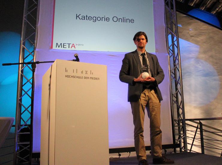 Kategorie Online: Preisträger Tobias Eberwein