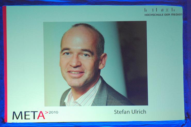 Kategorie Print: Preisträger Stefan Ulrich wurde per Interview eingespielt