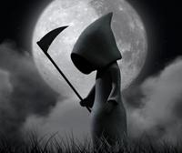 """Der kleine Sensenmann """"Grimy Reaper"""""""