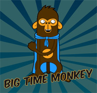 "Das Adventure-Game ""Big Time Monkey"""