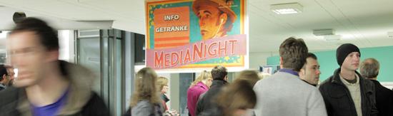 Die MediaNight an der HdM