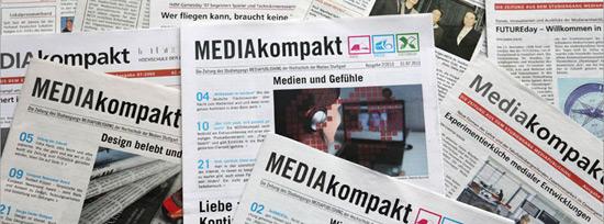 Alle zehn MEDIAkompakt-Ausgaben beschäftigen sich mit Themen aus der Medienwelt (Foto: Hanna Katz)