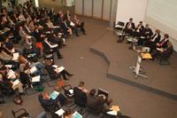 Die Besucher haben in Panels und Diskussionsrunden mehr über die Digital Natives erfahren