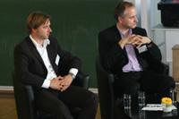 Johannes Sommer und Veit Mathauer (von links)