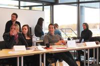 Die Mitorganisatoren aus den Niederlanden waren an der HdM (Fotos: HdM Stuttgart / Riekert)