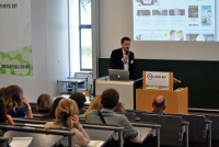 Mediapublishing-Absolvent Jan Halpape informierte über seinen Werdegang und seine Arbeit