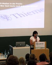 """Sigrid Lesch referierte über """"E-Medien in der Praxis"""""""