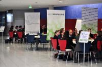 In sieben Talkshops diskutierten Verlagspraktiker und Studierende (Fotos: Isabel Bayer, Denis Schaal)