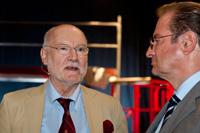 Prof. Joachim Starbatty und Ex-Außenminister Klaus Kinkel (von links)