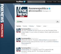 "Screenshot: Kanal ""foxnewspolitics"" vom 4. Juli"