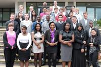 28 Studierende der Universitäten aus Birmingham, Aston und Liverpool nahmen teil (Fotos: Petra Rösch)