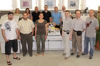 Die  Kurs-Teilnehmer (Fotos: Matthias Galus)