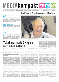 Die aktuelle Ausgabe befasst sich mit dem Thema Senioren und Medien.