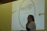 BOBCATSSS-Konferenz in Szombathely, Ungarn: Mirry Stoffers stellt das Thema f�r BOBCATSSS 2012 vor