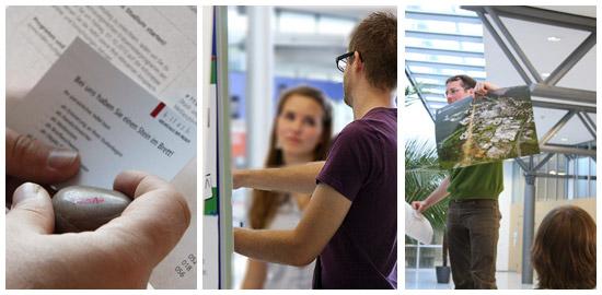 Impressionen vom HdM-Erstsemesterpogramm im Sommersemester 2011