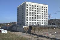 Die neue Stadtbibliothek (Foto: Webcam, www.stuttgart.de)