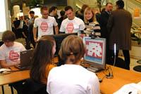 Die HdM ist beim World Usability Day dabei, mit einem Stand und mit Vorträgen