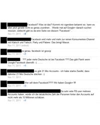 Bericht auf Google+