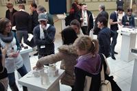 2010: Die Wettbewerbsarbeiten waren im Foyer zu sehen