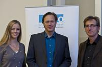 (v.l.): Stephanie Schlayer, Gerhard Delling und Markus Bundt