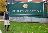 Kim Mielowsky an der University of Oregon in Eugene