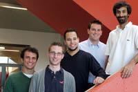 Bereits zum dritten Mal dabei: ein Team von der Schweizer Partnerhochschule HEIG-VD in Yverdon