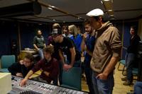 Musik auf die Ohren gibt es im HdM-Tonstudio