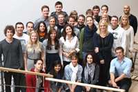 Das Projektteam des Wintersemesters 2011/2012